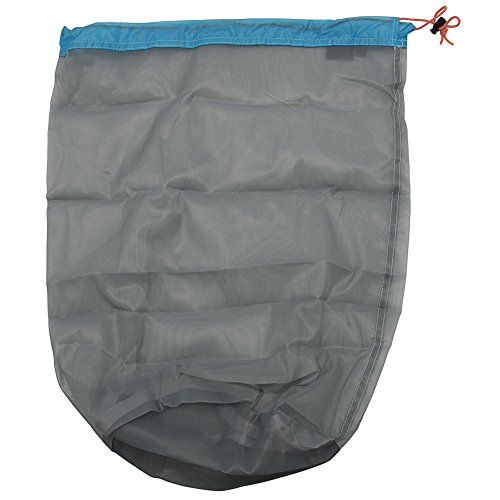 Ultra Light Mesh Stuff Sack Storage Bag Travel Camping Hiking Drawstring Bag - X-Large