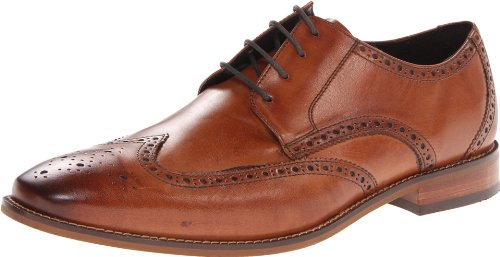 picture of Florsheim Men's Castellano Wing Oxford,Saddle Tan,10 D US