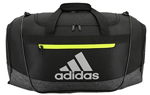 adidas Defender III medium duffel Bag, Grey, One Size ()
