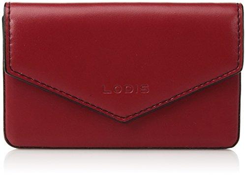 Lodis Women's Audrey Rfid Maya Card Case, Red, One (Lodis Mini Card Case)