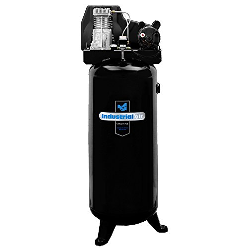 Industrial Air IL3106016 60-Gallon Hi-Flo Single Stage Cast Iron Air Compressor