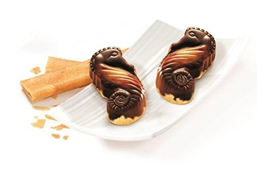 Guylian Crunchy Biscuit Seahorses Artisanal Belgian Chocolates Gift Box (Kosher) - 140g