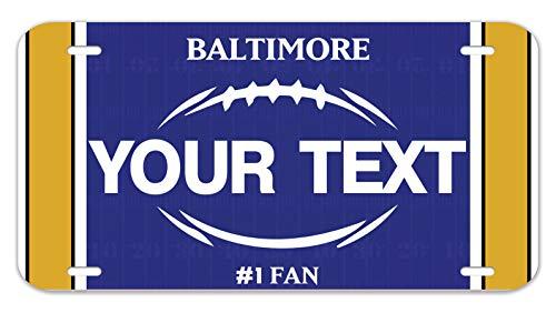 Bleu Reign Personalized Custom Name Football Team Baltimore 12
