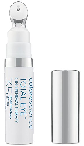 - Colorescience Total Eye 3-in-1 Anti-Aging Renewal Therapy for Wrinkles & Dark Circles, SPF 35