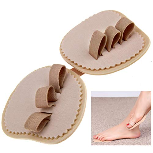 Right And Left Foot Mallet Hammer Toe Crooked Corrector Straightener Pad
