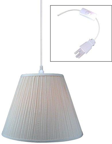 New 17 Pleat Lamp Shades - 1