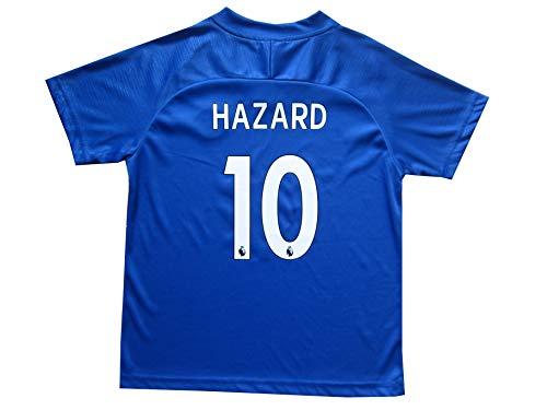d3bfc26d4 LES TRICOT 2018 2019 Chelsea Home  10 Hazard Football Futbol Soccer Kids  Jersey Shorts