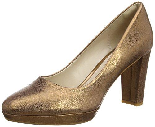De bronze Para Tacón Sienna Mujer Metallic Kendra Zapatos Gris Clarks q1pxt4p