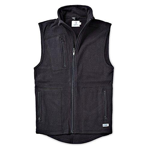 Tyndale Men's Premium Micro-Fleece FRMC FR Vest Large Black ()