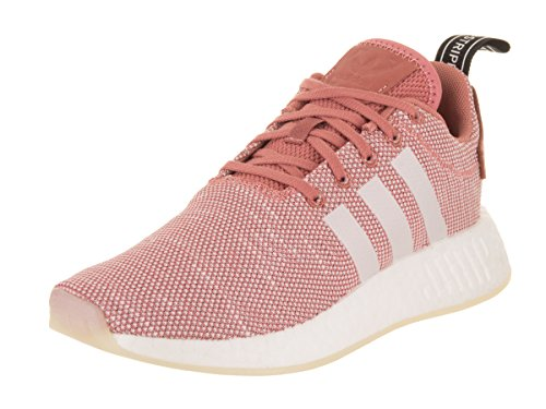 Adidas Women's NMD_R2 Originals Pink/Multi Running Shoe 8 Women US by adidas