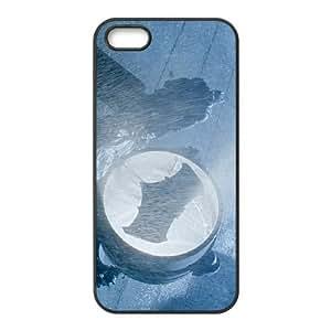Comics Ben Affleck as Batman next to Bat Signal in Batman v Superman Dawn of Justice iPhone 4 4s Cell Phone Case Black Present pp001-9443061
