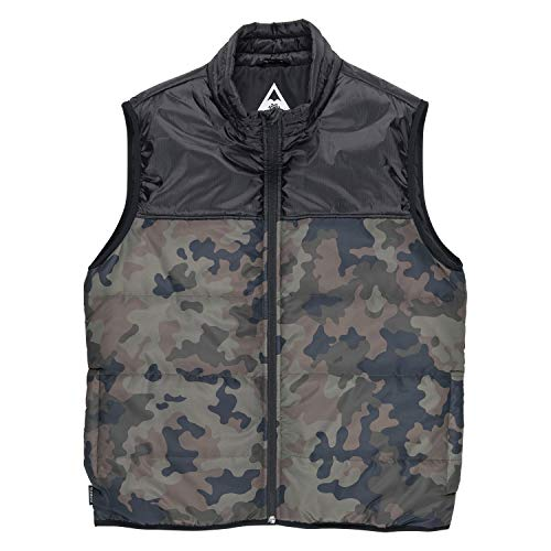 Element Men's Puff Vest TW, bark camo XL