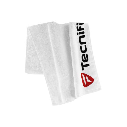 Tecnifibre–White Towel 50x 75, Couleur 0