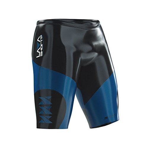 XTERRA LAVA Shorts Triathlon Wetsuit Shorts - 5 mm Neoprene Buoyancy Shorts - For Best Wetsuits Swimming