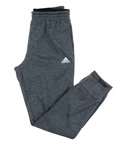 adidas Mens Tech Fleece Climawarm Jogger Pant (Dark Grey Heather, X-Large)