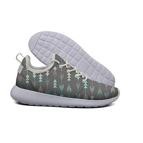 Ether Dobbin Women's Arrow Art Elastic Lightweight Running Shoes Breathable Mesh Walking Sneakers