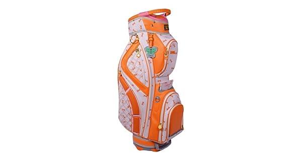 Amazon.com: Lilybeth Bolsa de golf, color naranja Libélula ...