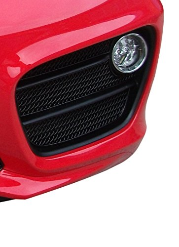 Fan Guard Grille (Porsche Cayman 981 (Manual/PDK without Sensors) - Outer Grille Set - Black finish (2012 to 2016))