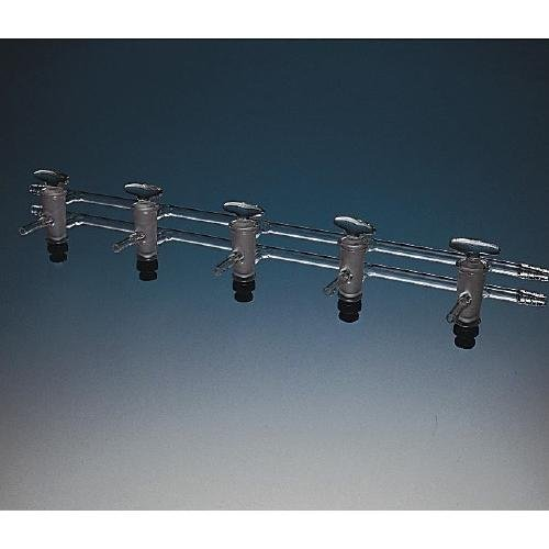 Kimble Chase 216050-9002 Glass Double Oblique Manifold Plug, Degrees C