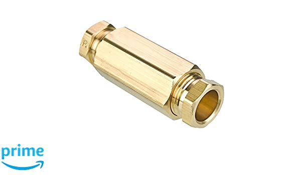Union Parker A-Lok 1SC1-B Brass Compression Tube Fitting 1//16 Tube OD