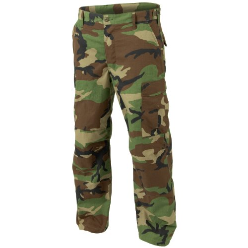 Helikon Genuine BDU Trousers Polycotton Ripstop Woodland size M (Ripstop Army Cargo Bdu Pants)