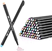 Cheelom Plumas de colores Fineliner Juego de Planificador Bolígrafos de 60 colores punta de fieltro de color s