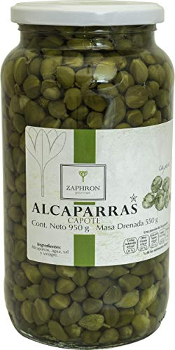 Zaphron Gourmet Alcaparra Capote, 950g
