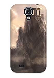 Waterdrop Snap-on Mount Olympus God Of War Ascension Case For Galaxy S4