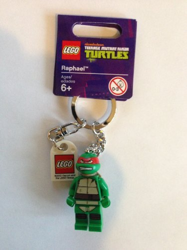 ninja turtles lego keychain - 9