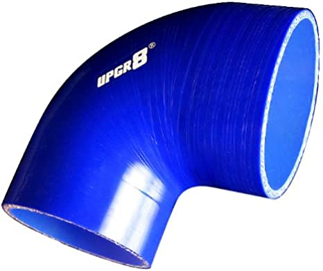 to 2.5 57MM , Blue 2.25 Upgr8 Universal 4-Ply High Performance 90 Degree Elbow Reducer Coupler Silicone Hose 63MM
