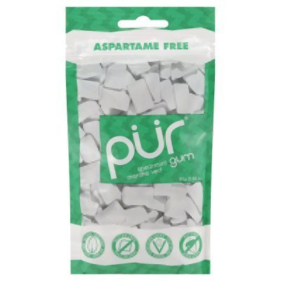 Pur Gum, Spearmint, 2.82-Ounce (Pack of 12) by PUR