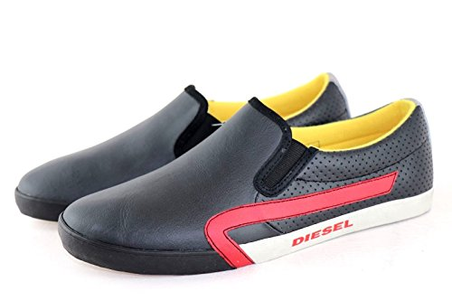 DIESEL E-KLUBB ON Sneaker Men Herren Schwarz Black *** NICE LOOK *** NEW *** GRÖßE : EU 43