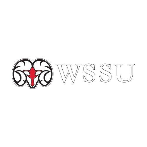 CollegeFanGear Winston Salem Medium Decal 'Ram WSSU' by CollegeFanGear