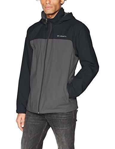 Columbia Men's Glennaker Lake Lined Rain Jacket, Waterproof & Breathable