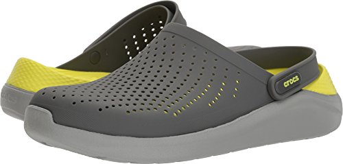 Crocs Unisex LiteRide Clog, Slate Grey/Light Grey, 9 US Men/11 US Women M US by Crocs
