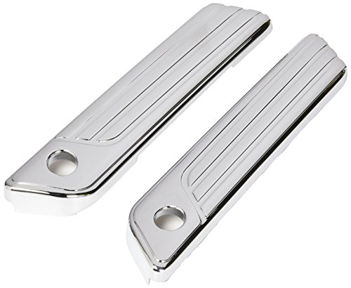 Kuryakyn 6986 Tri-Line Chrome Saddlebag Hinge - Kuryakyn Chrome Cover