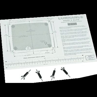 Lowrance FM-12 Flush Mnt Kit for all HDS Units, New Condition, 000-0124-65