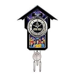 STAR TREK Cuckoo Clock With Sound, Motion And Original Series Crew by The Bradford Exchange