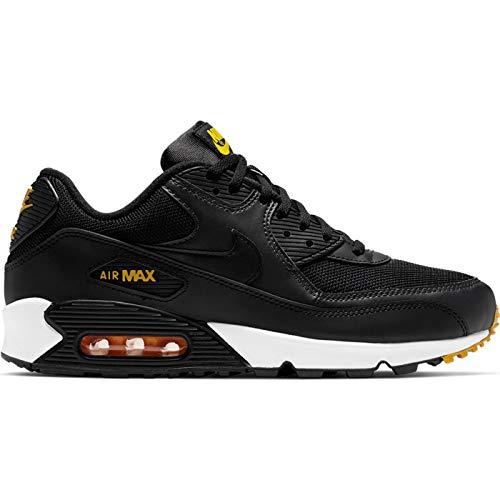 Nike Air Max 90 Essential Black/Amarillo-Anthracite (13 D(M) US) (Nike Air Max 90 Mens Size 13)
