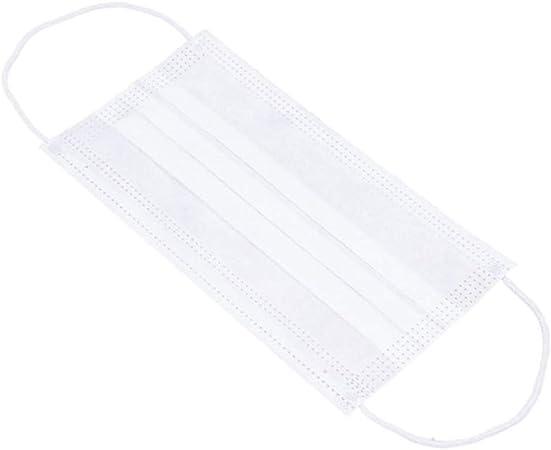 lpm - 100 masques chirurgicaux de protection jetables 3 plis