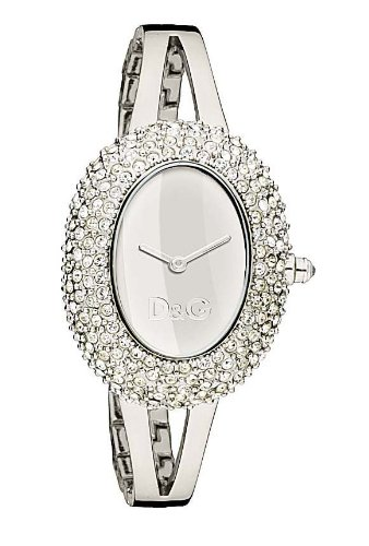Dolce & Gabbana Time Watch MUSIC DW0279, Color: Silver-Coloured, Size: One Size