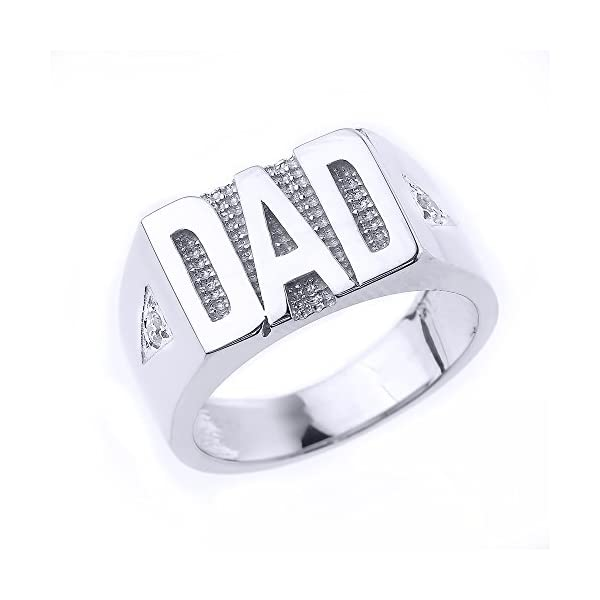 Bold-925-Sterling-Silver-Solid-Diamond-Band-Dad-Ring-for-Men