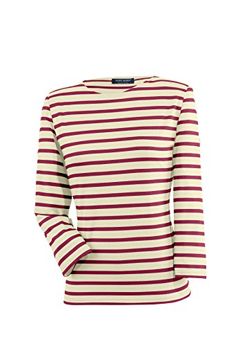 Saint James Galathée - Streifenshirt - Bretagne-Shirts Ecru/Persan