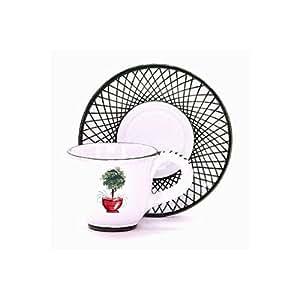 Amazon.com  GIARDINO: Espresso Cup and Saucer set [# ...