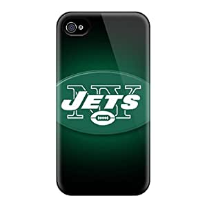 Awesome SvU2242HdxE BlingBlingCase Defender Tpu Hard Case Cover For Iphone 4/4s- New York Jets