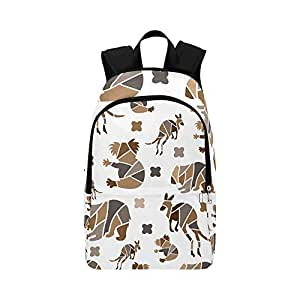 Amazon.com: Backpack Shoulder Bag Australian Kangaroo and