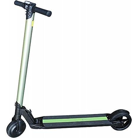 SMARTGYRO Viper Urban Patín Scooter eléctrico, Unisex Adulto, Dorado, 6.5