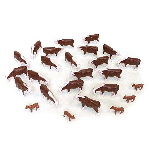 ERTL Hereford Cows (Pkg of 25) 1:64 ()