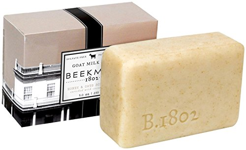 Bar Soap Milk Oat - Beekman 1802 Goats Milk Bar Soap - Honey & Oats - 9 oz