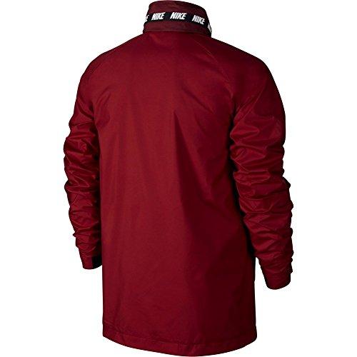 Giacca A Vento Nike – Sportswear Advance 15 granato/nero/bianco formato: L (Large)